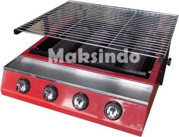 mesin penggang sate BBQ