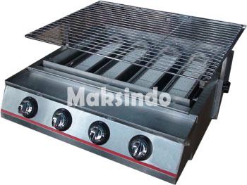mesin panggang ikan, ayam, sate BBQ