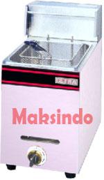 mesin gas deep fryer