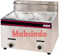 mesin deep frying maksindo