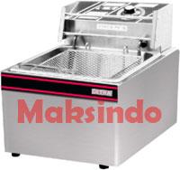 mesin deep frying lsitrik