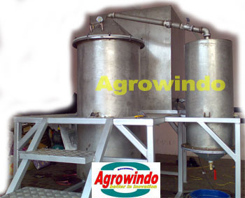 alat mesin destilasi minyak asiri