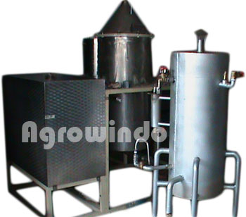 mesin destilasi minyak asiri