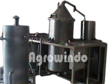 mesin destilasi agrowindo