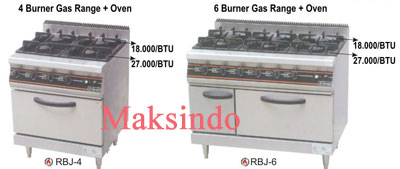 mesin gas open burner maksindo
