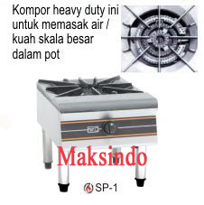 mesin gas stock pot maksindo
