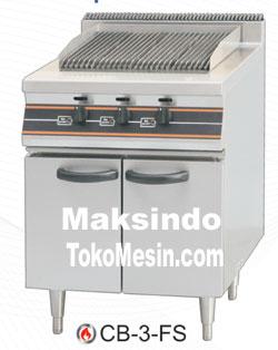 mesin barbeque dan cabinet