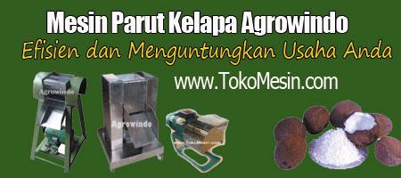 mesin parut kelapa agrowindo murah