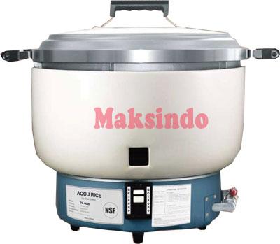 jual mesin gas rice cooker gas buatan korea