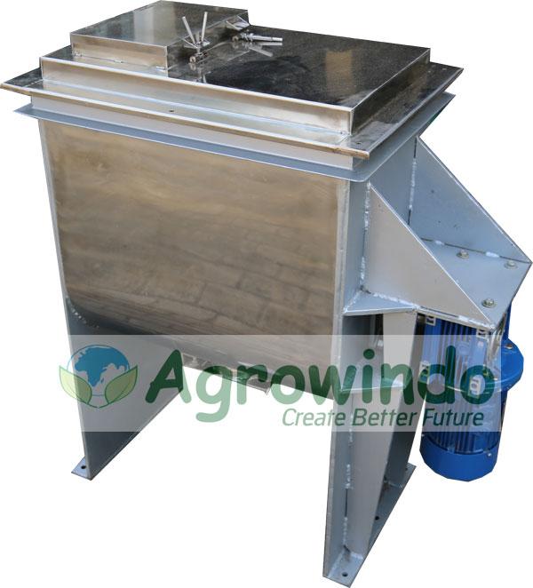 mesin pengaduk tepung super mixer
