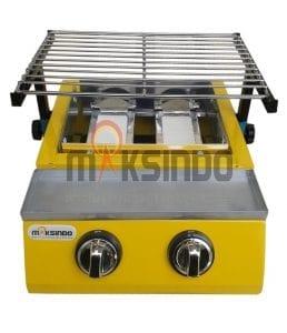 Mesin Pemanggang Sate – BBQ 2 Tungku (Gas)