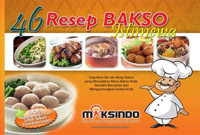 gratis buku resep bakso