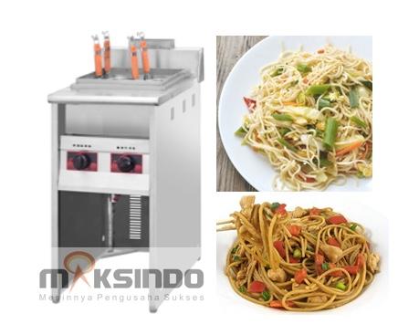 mesin pemasak mie noodle cooker