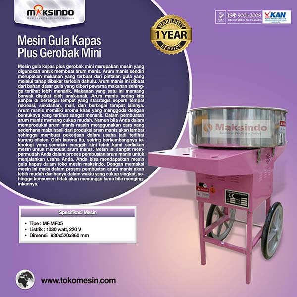 mesin-gula-kapas-plus-gerobak-mini