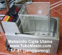 deep fryer listrik EF81 tokomesin