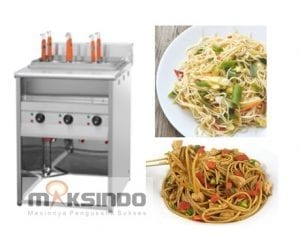 Mesin Pemasak Mie (Gas LPG)