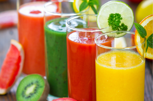 healthy fruit veggie smoothies types of fruit