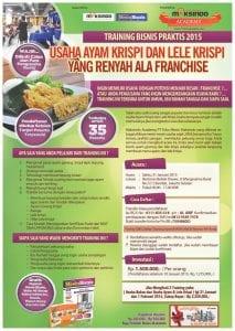 Training Bisnis Ayam Dan lele Krispi 31 Januari 2015