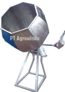 Spesifikasi dan Harga Mesin Pencampur Bumbu Kering Hexagonal