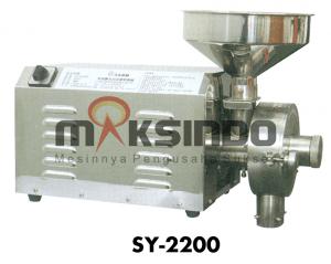 Spesifikasi dan Harga Mesin Disc Mill Bahan Kering
