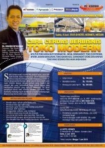 Seminar Bisnis Retail di Medan, 6 Juni 2015