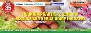 Training Bisnis Aneka Sosis 29 Agustus 2015 Jakarta