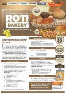 Training Usaha Roti Bakery 31 Oktober 2015