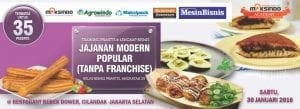 Training Jajanan Modern Franchise 30 Januari 2016