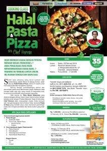 Training Kuliner Halal Pasta dan Pizza, 20 Februari 2016