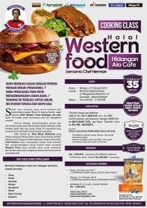 Training Kuliner Halal Western Food, 21 Februari 2016