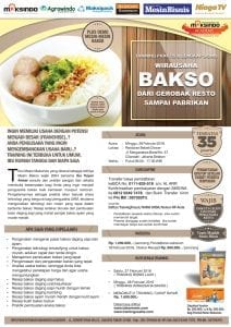 Training Usaha Bakso 28 Februari 2016