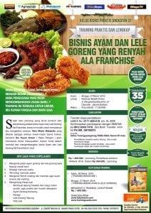 Training Usaha Ayam Goreng dan Lele Goreng 27 Maret 2016