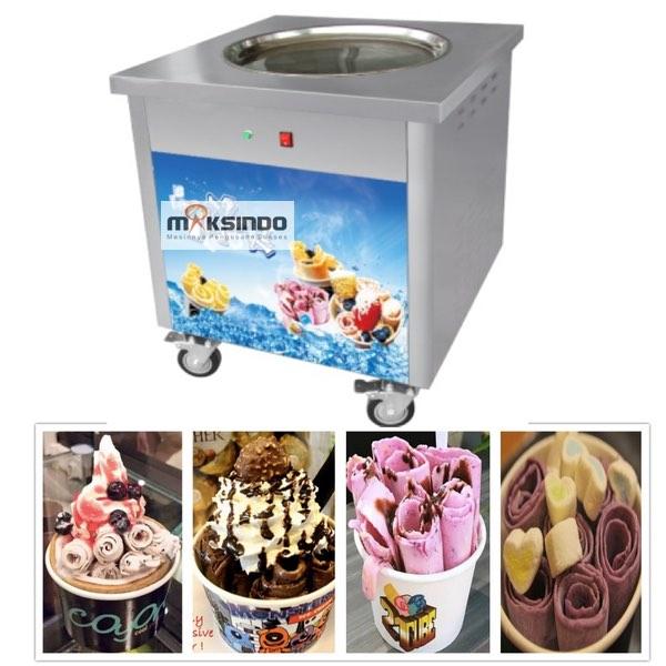 jual mesin es krim goreng fry ice cream