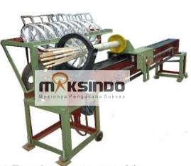 mesin pembelah bambu tusuk gigi