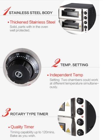 spesifikasi dan keunggulan oven listrik