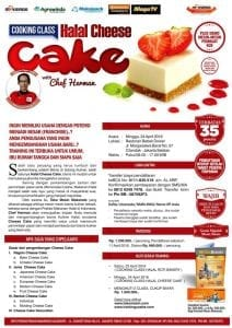 Training Usaha Aneka Cheese Cake 24 April 2016