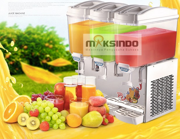 mesin juice dispencer 3 tabung