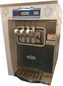 Mesin Soft Ice Cream 3 Kran (Denmark Compressor) – ISC32