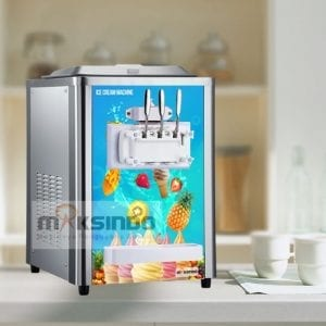 Mesin Es Krim (Soft Ice Cream) Lengkap