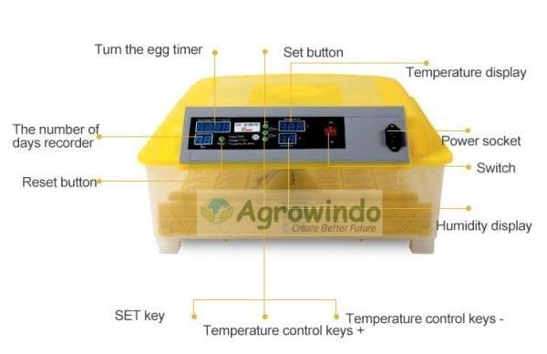 bagian mesin penetas telur