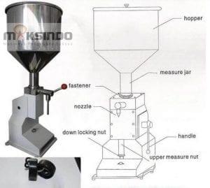 Mesin Manual Filling Cairan-Pasta – MKS-MF10
