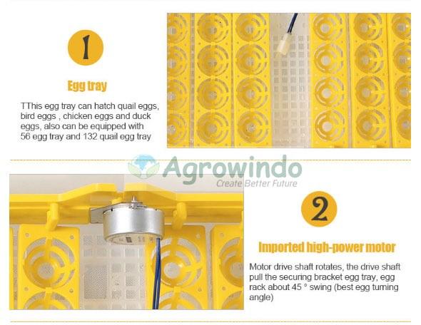 spek mesin penetas telur