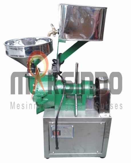mesin pulp grinder pembubur kacang hijau