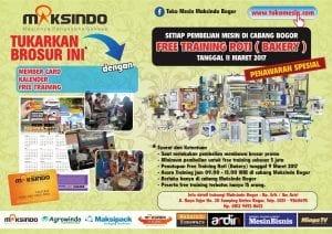 Program Tukar Brosur di Maksindo Bogor