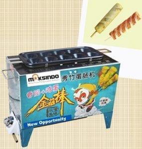 Mesin Pembuat Egg Roll (Gas)