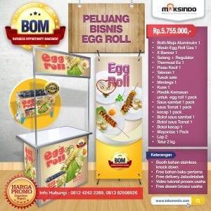 Paket Usaha Egg Roll Progam BOM