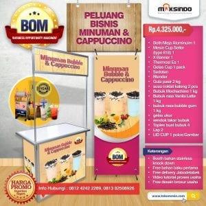 Paket Usaha Minuman dan Cappuccino Progam BOM