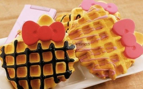 Mesin Waffle Bentuk Hello Kitty Kitty2 Toko Mesin