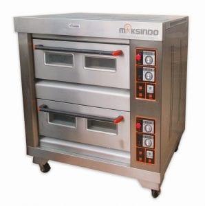 Mesin Oven Roti Gas 4 Loyang (MKS-RS24)