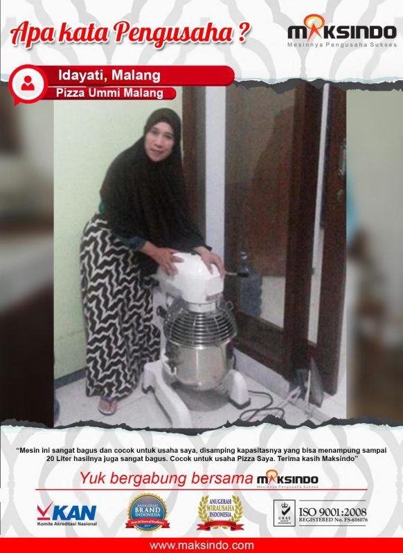 Pizza Ummi Malang: Mesin Bagus, Cocok Untuk Usaha